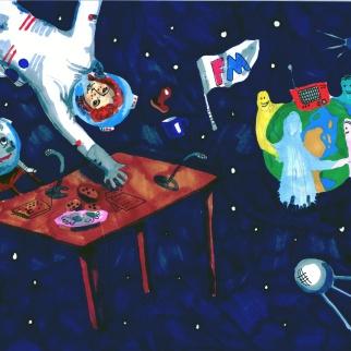 Рисунок-победитель участника Варвара Соколова, 12