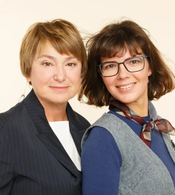 Нина Зверева и Светлана Иконникова