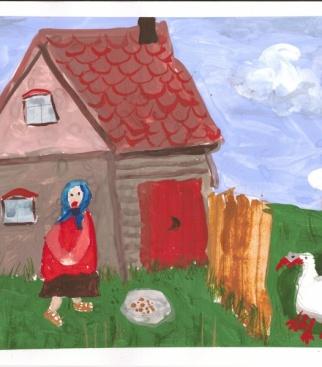 Жили у бабуси два веселых гуся