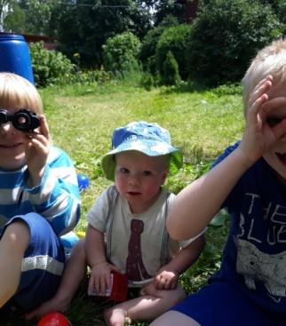Я и мои братья Альберт и Артур