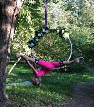 Летняя тренировка в парке
