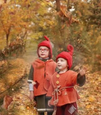 На фото я и мой младший брат Коля))