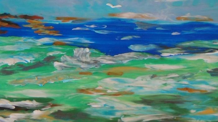 Пластилиновое море