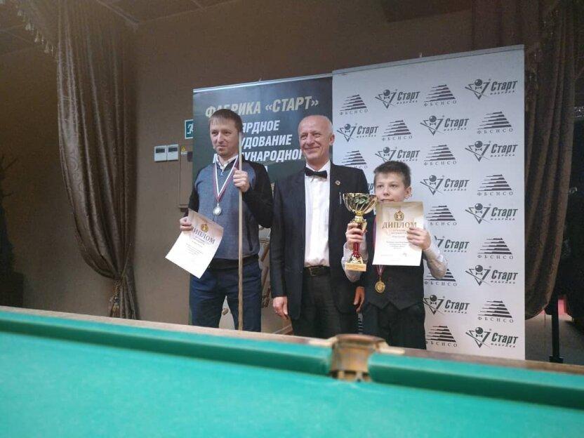 12-летний школьник обыграл мастеров бильярда и стал чемпионом