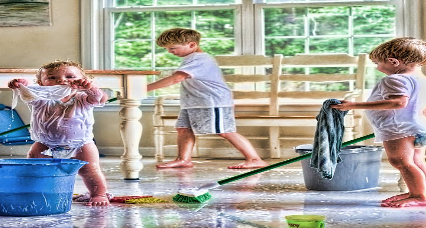 Как научить детей любить чистоту и порядок?