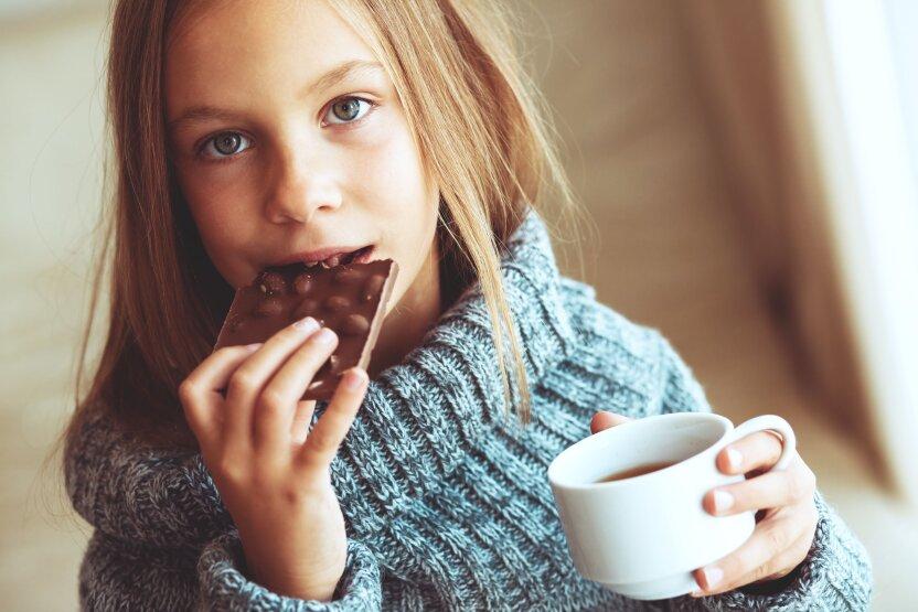 Можно ли вылечить кашель шоколадом?