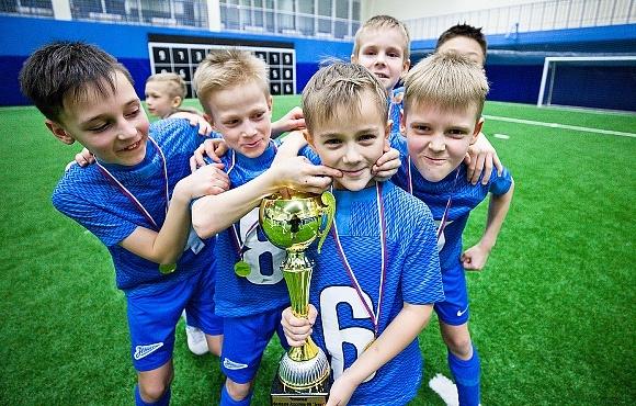 «Зенит» U-9 выиграл чемпионат филиалов «Газпром»-Академии