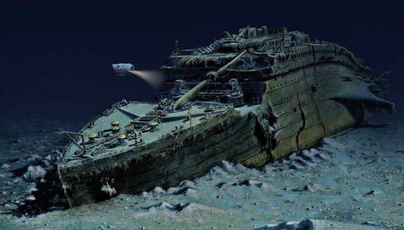 """Почему """"Титаник"""" не могут поднять со дна Атлантики?"""