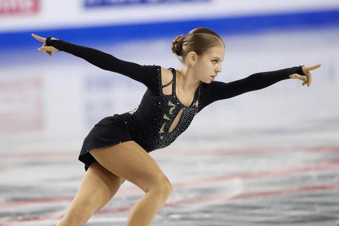 15-летняя российская фигуристка установила 2 мировых рекорда