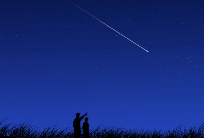 Почему падают звезды