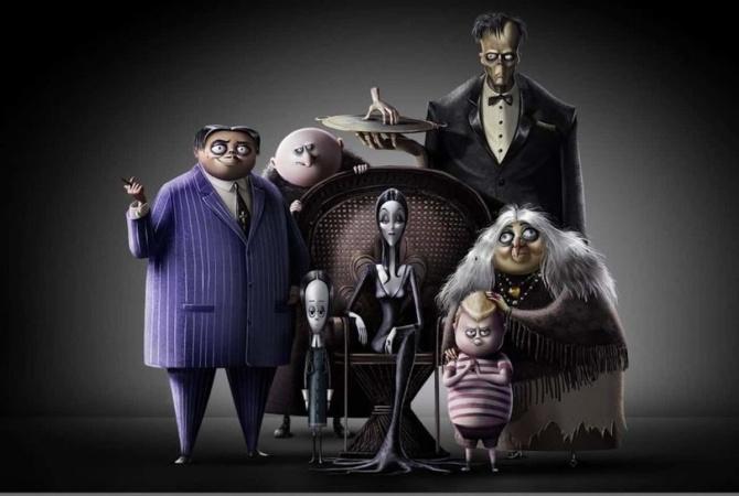 В российский прокат вышел новый мультфильм «Семейка Аддамс»
