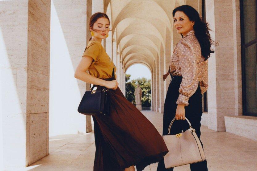 Дочь Кэтрин Зеты-Джонс стала лицом рекламной кампании Fendi