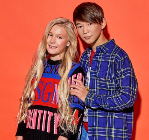 Российский дуэт успешно провел вторую репетицию своего номера на «Детском Евровидении-2019»
