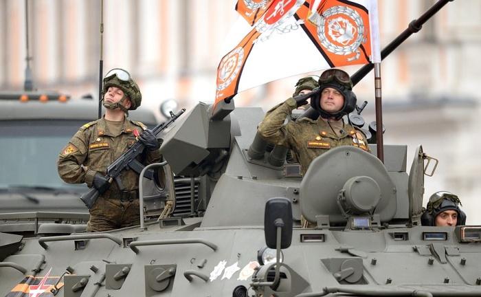 Парад Победы впервые показали в формате 360°