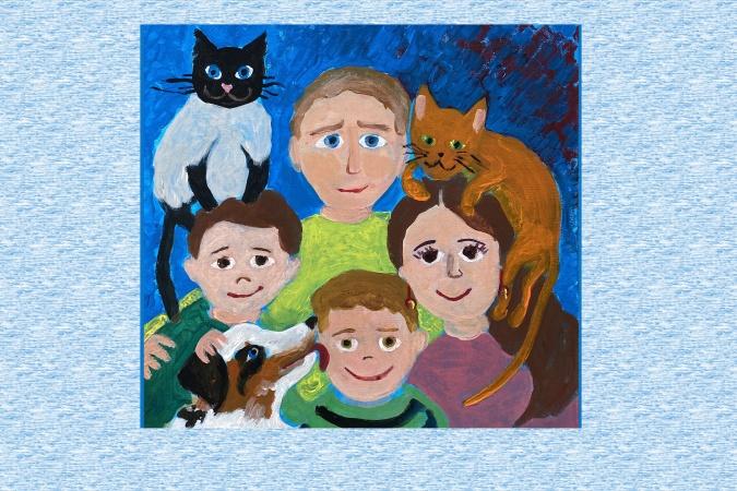 Завершается Всероссийский конкурс детского рисунка «Семья, Родина и Я!»