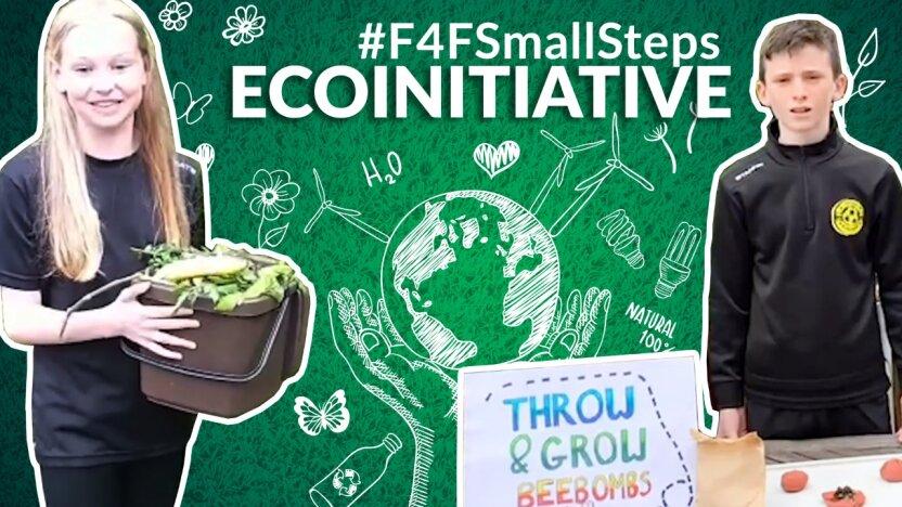 Юные участники программы «Футбол для дружбы» со всего мира поделились лайфхаками по сохранению окружающей среды в челлендже #F4FSmallSteps