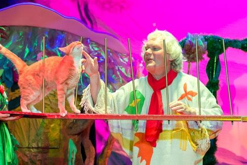 """Детское радио приглашает на новое интерактивное лазерное шоу Юрия Куклачёва - """"Мяугли"""""""
