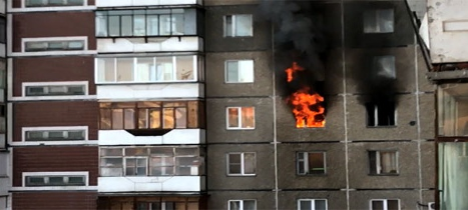 Старшеклассник спас из огня двоих детей