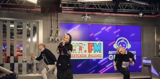 Живой концерт Ивана Старикова (Иван Star) в студии Детского радио