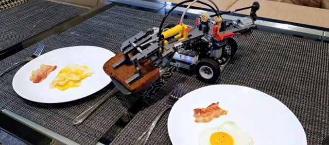Робоповар из конструктора LEGO