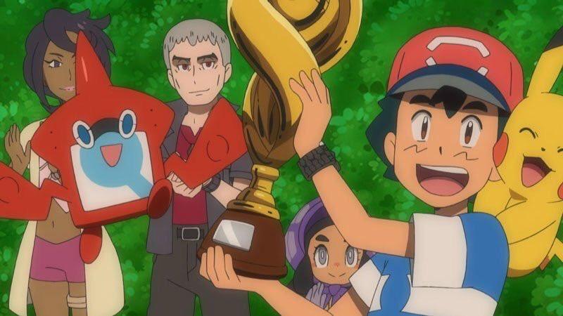 """Главный герой """"Покемона"""" Эш впервые за 22 года стал чемпионом Лиги покемонов"""